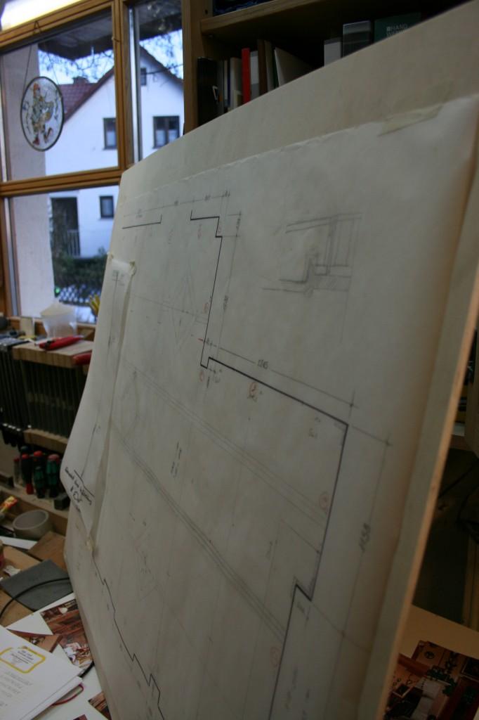 Bauplan - Zirbelstube